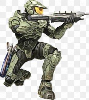 Soldier Gun - Gun Cartoon PNG