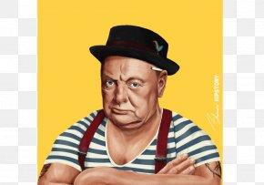 Vladimir Putin - Art Hipster Portrait Painting PNG