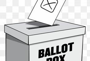 Ballot Box - Ballot Box Election Day (US) Voting PNG