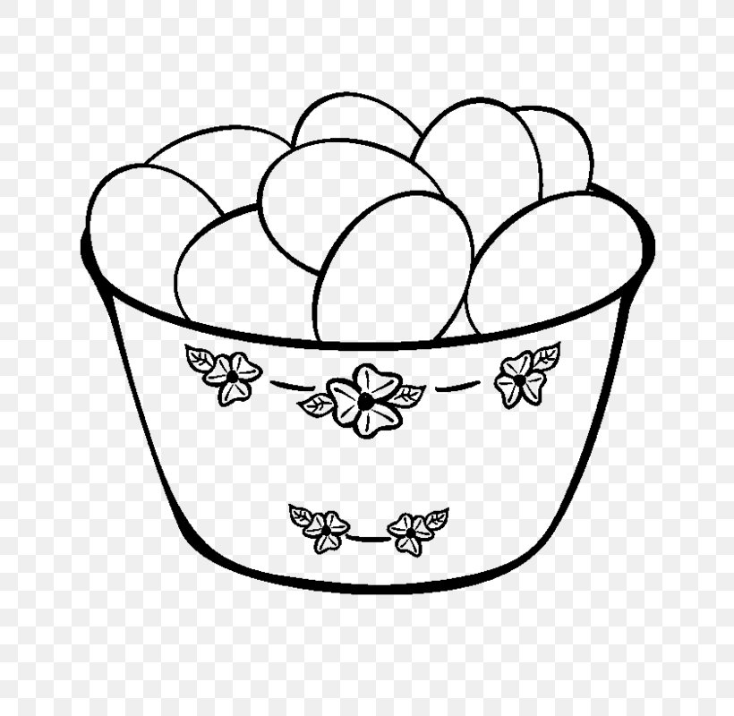 - Coloring Book Easter Egg Easter Egg Drawing, PNG, 654x800px, Coloring Book,  Basket, Black And White, Child,