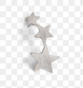 Jewellery - Earring Jewellery Sterling Silver Star PNG