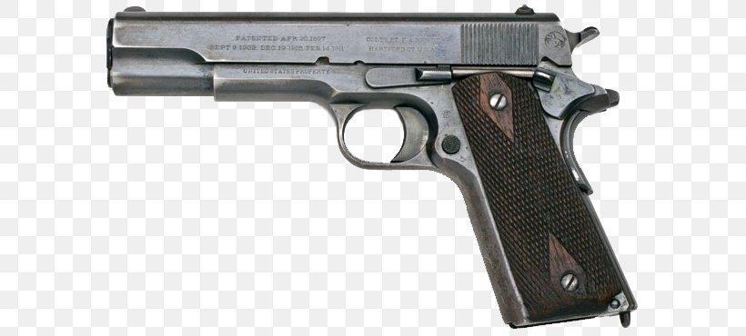 M1911 Pistol Colt's Manufacturing Company Semi-automatic Firearm Semi-automatic Pistol, PNG, 600x370px, 45 Acp, 45 Colt, M1911 Pistol, Air Gun, Airsoft Download Free