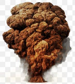Atomic Bomb - Mushroom Cloud Explosion Clip Art PNG