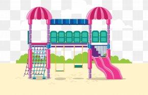 Slide Toy - Playground Slide Jungle Gym PNG