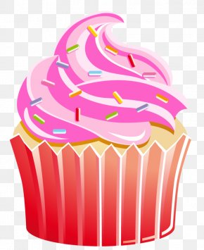 Cup Cake Cliparts - Cupcake Birthday Cake Muffin Clip Art PNG