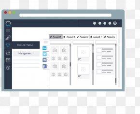 Social Media Management - Landing Page Customer Relationship Management Email Marketing Computer Program PNG