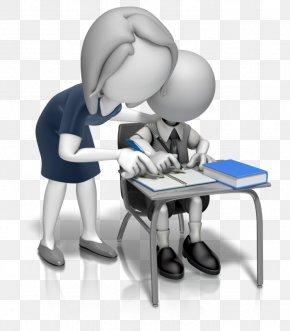 Powerful Woman - Teacher Student School Classroom Clip Art PNG