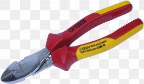 Pliers - Diagonal Pliers Nipper Lineman's Pliers Wire Stripper PNG