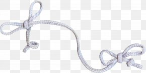 Bow Decoration - Silver Jewelry Design Body Jewellery PNG