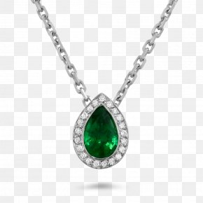 Emerald - Charms & Pendants Necklace Jewellery Diamond Emerald PNG