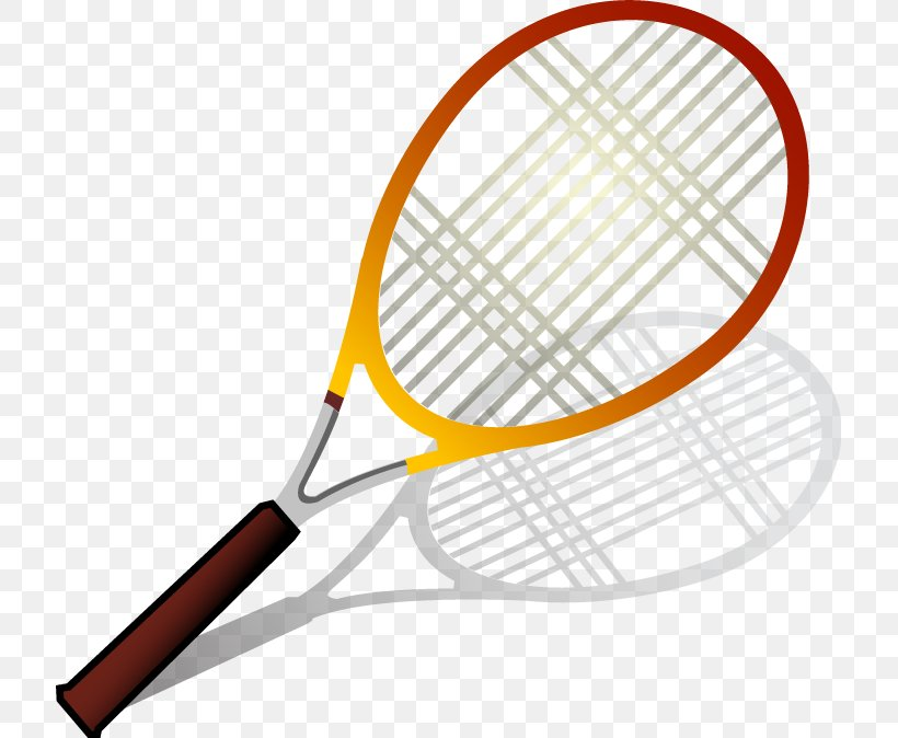 Racket Tennis Badminton, PNG, 717x674px, Racket, Area, Badminton, Ball, Padel Download Free