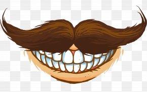 Moustache - Jaw Mouth Cartoon Clip Art PNG
