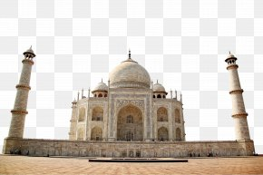 Taj Mahal, India - Taj Mahal Yamuna New7Wonders Of The World Mughal Empire PNG