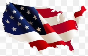 USA Flag Map Clipart - United States International Student Scholarship Higher Education PNG
