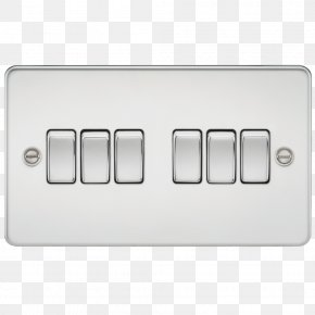 Electrical Switches Knightsbridge Brushed Metal Latching Relay AC Power Plugs And Sockets PNG