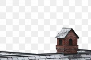 House Chimney On The Roof - Roof Building Chimney Facade PNG