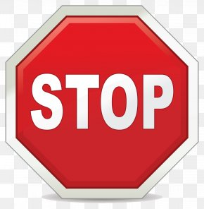 Stop Sign Clipart Download - Stop Sign Traffic Sign Safety Clip Art PNG