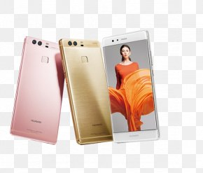 Huawei P9 Phone - Huawei P9 LTE Smartphone Android Marshmallow PNG