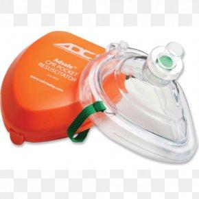 Oxygen Mask - Pocket Mask Cardiopulmonary Resuscitation Face Shield Resuscitator First Aid Supplies PNG