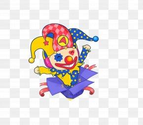 The Clown In The Box - Clown Cartoon PNG
