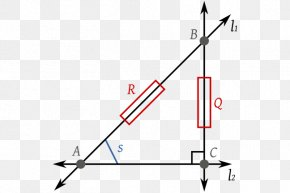 Euclidean Distance - Line Right Triangle Point Hypotenuse PNG