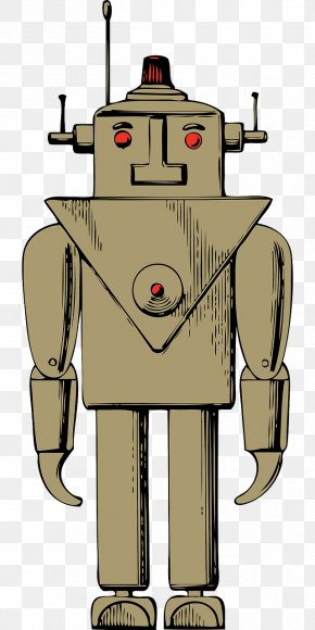 Brown's Robots - Robot Clip Art PNG