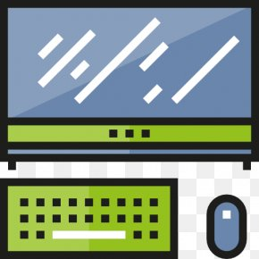 A Computer - Computer Monitor Computer Hardware Icon Design Icon PNG