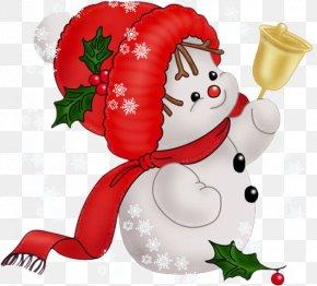 Christmas - Christmas Child Snowman Santa Claus Clip Art PNG