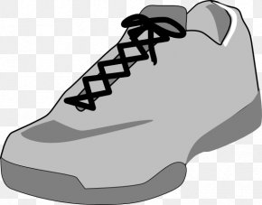 Shoe Outlines - Shoe Sneakers High-top Free Content Clip Art PNG