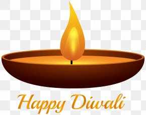 Happy Diwali Candle - Diwali Diya Clip Art PNG