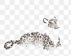 Leopard - Leopard Jaguar Body Jewellery Font PNG