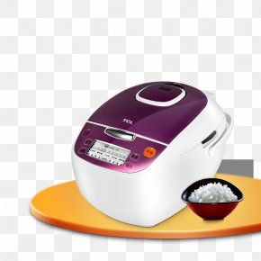 A Smart Rice Cooker - Rice Cooker Congee Hot Pot Simmering PNG
