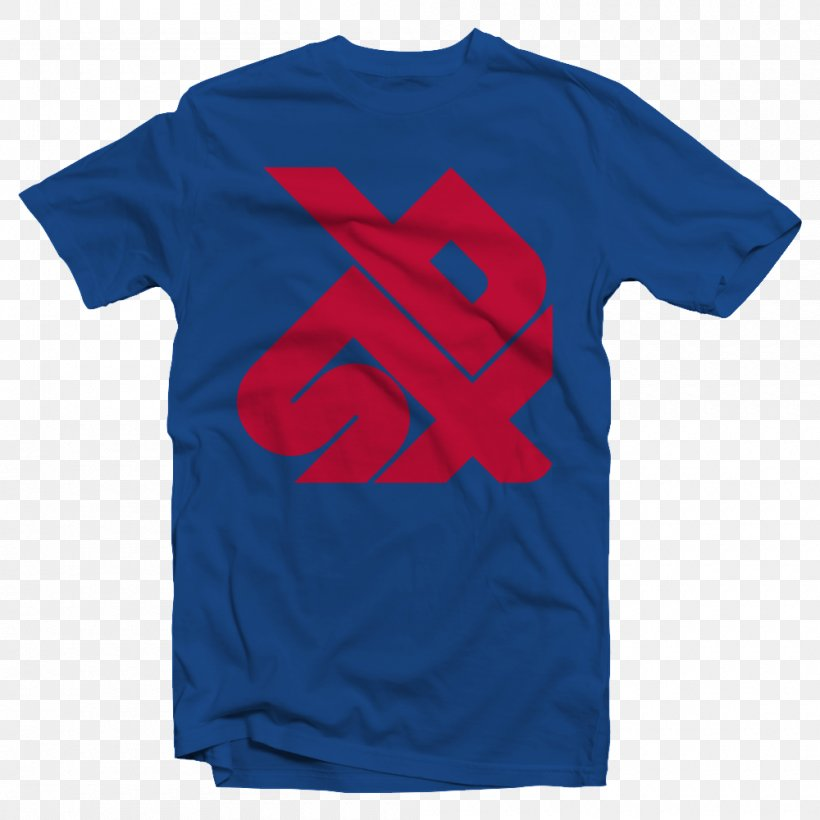 T-shirt Sleeve Jersey Crew Neck, PNG, 1000x1000px, Tshirt, Active Shirt, Blue, Brand, Clothing Download Free