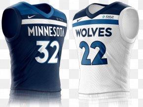T-shirt - 2017–18 Minnesota Timberwolves Season T-shirt Sports Fan Jersey NBA PNG