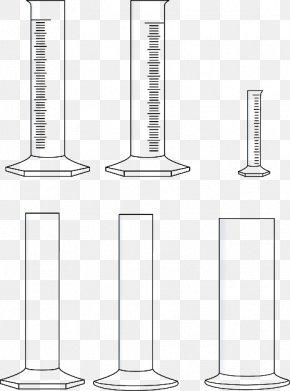 Laboratory Glassware - Chemistry Laboratory Glassware Cylinder Chemielabor PNG