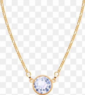 Blue Jewelry Necklace - Locket Necklace Chain Jewellery PNG