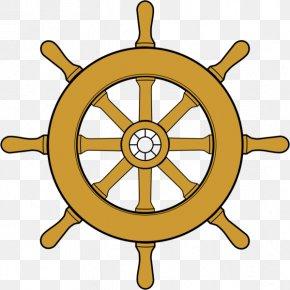Wheel Of Dharma Png File - Ship's Wheel Steering Wheel PNG