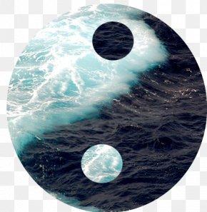 Ocean - Yin And Yang Ocean Wind Wave Sea Clip Art PNG