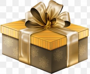 Gift - Christmas Gift Box Clip Art PNG