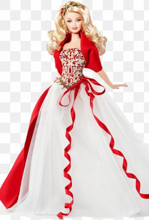 Wedding Barbie - Amazon.com Barbie Doll Holiday Toy PNG
