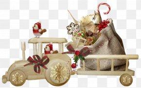 Christmas Posters - Santa Claus Christmas New Year Tree Clip Art PNG