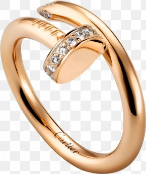 Ring - Cartier Ring Diamond Jewellery Colored Gold PNG
