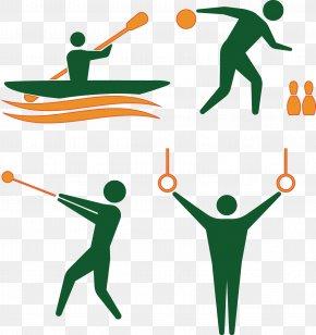 Rio Olympic Athletes Icon - 2016 Summer Olympics 2008 Summer Olympics Rio De Janeiro Athlete Clip Art PNG