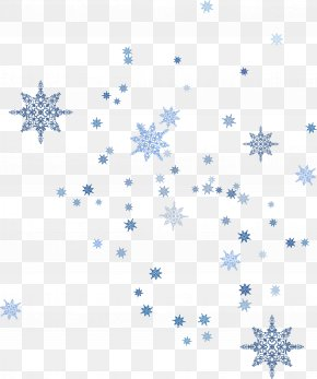 Floating Blue Snowflake - Blue Snowflake Schema PNG
