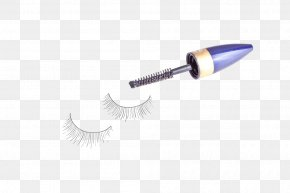 Black Eyelash Brush - Mascara Eyelash Cosmetics Make-up PNG