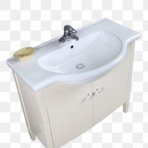 Simple White Sink - Tap Hand Washing Bidet Sink PNG