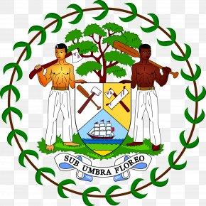 National Emblem - Coat Of Arms Of Belize Flag Of Belize PNG