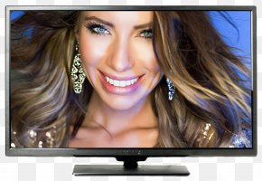Television - 1080p LED-backlit LCD High-definition Television 4K Resolution PNG