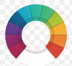 Vector Creative Element PPT - Circle Pie Chart PNG