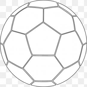 Ball - Colouring Pages Coloring Book Football Pitch PNG